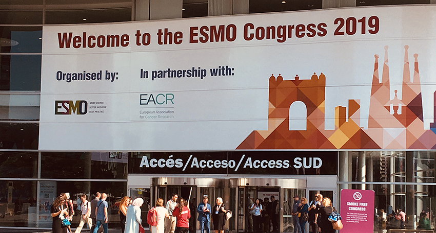 ESMO Kongress Messe Barcelona